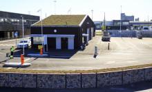 Passersystem testas på en av Sysavs återvinningscentraler