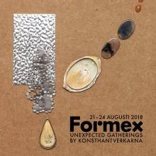 Konsthantverkarna på Formex 21-24 augusti 2018