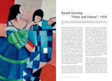 "Article about Harald Giersing's Danish modernistic masterpiece: ""Fokin and Fokina"" (1918)"