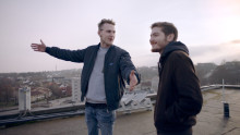 Ny film: Vännerna Amjad och Rickard möttes via Let´s Talk