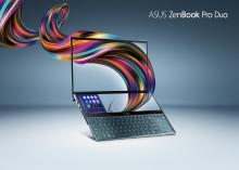 ASUS lanserar ZenBook Pro Duo med revolutionerande ScreenPad Plus