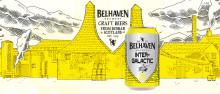 Belhaven Intergalactic – torrhumlad skotsk lager släpps på Systembolaget 1 mars