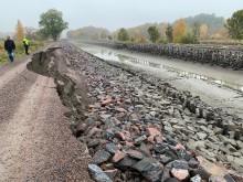 Jordskred utanför Söderköping