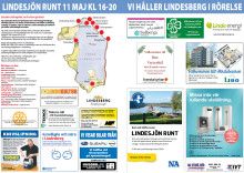 Lindessjön Runt Dagen marknadsförs regionalt i NA-bilaga