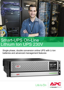 Smart-UPS On-Line Li-ion UPS 230V