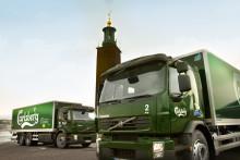 Carlsberg Sverige minskar miljöpåverkan med nya miljölastbilar