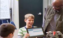 HP Norge og Teknologiskolen Hundsund Ungdomsskole inviterer til den offisielle åpningen av det digitale skoleprosjektet Reinvent the Classroom