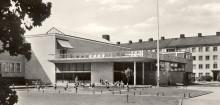 Fritidsbarn gör avtryck till konstverk i museiparken & Kulturreservatet Öna kan bli konstnärsresidens