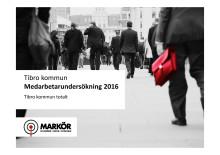 Resultatredovisning av Tibro kommuns medarbetarenkät hösten 2016
