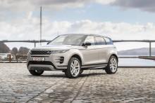 Fem stjerner til Range Rover Evoque