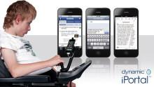 Invacare lanserar den innovativa och spännande nyheten iPortal som öppnar nya möjligheter för rullstolsbrukare med begränsad handfunktion.