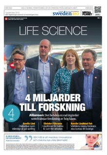 Vi förbättrar för svensk välfärd! SwedenBIO lanserar Life Science-bilaga av Mediaplanet i dagens DN
