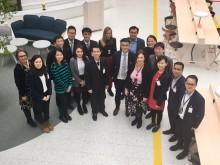 Delegation från Singapore på Arlanda för att lära om bioflygbränslen