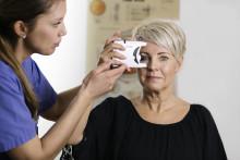 Svårutredda glaukompatienter får hjälp på mottagning för hemtrycksmätning