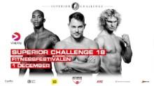 Superior Challenge firar 10 år med stjärnspäckad gala i samarbete med Fitnessfestivalen