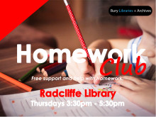 ​Homework Club at Radcliffe Library