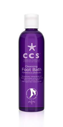 CCS presenterar ny fotprodukt i kategorin Beauty Care: Cleansing Foot Bath fräschar upp vintertrötta fötter