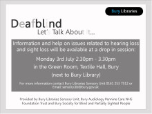 Free help and information for those who are DeafBlind
