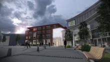 Nu startar ombyggnationen av Norrlandsoperans entré, kostymateljé och restaurang