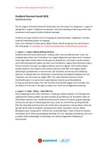 Rutebeskrivelse 2018