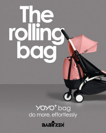 LAUNCH: YOYO+ bag, a rolling bag... that changes everything!
