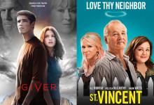 THE GIVER och ST. VINCENT släpps på DVD, Blu-Ray och VoD 7 september!