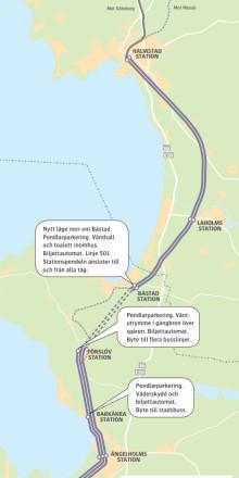 Med tunneln genom Hallandsås får Bjäre en helt ny kollektivtrafik.