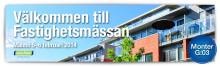 Dahl ställer ut på Fastighetsmässan i Öresund 5-6 februari.