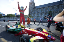 Audi-föraren Lucas di Grassi tog hem förarmästerskapet i eldrivna Formel E