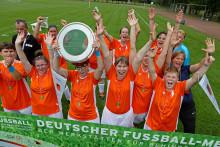 Silvia Neid eröffnet Deutsche Meisterschaft der Werkstätten