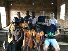 TBS-elever hyllas efter volontärresa till Uganda