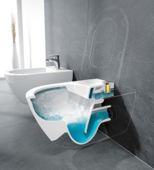 DirectFlush-WCs mit ViFresh in halböffentlichen Bereichen - Für beste Hygiene und saubere Frische in der Toilette