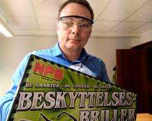 Beskyttelsesbriller gir færre fyrverkeriskader