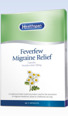 Healthspan Announce Charity Partnership with Migraine Action