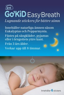 Go´KiD Easy Breath finns nu på MEDS Apotek AB