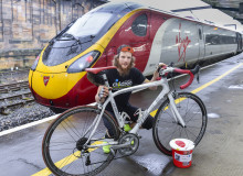 Virgin Trains employee gears up for charity bike ride with a chain of fundraising events
