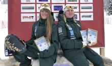 Dubbla världscupsegrar för speedskiåkaren Britta Backlund