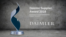 "Appsfactory erhält vom Bereich International Procurement Services den Daimler Supplier Award 2018 in der Kategorie ""Innovation"""