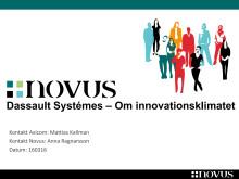 Dassault Systèmes innovationsundersökning 2016