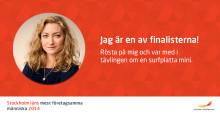 Jeanette Holm, grundare av Nannynu!, en av 5 finalister för mest företagsamma människa 2014