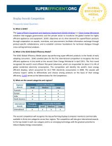 SEAD Display rules FAQs sheet