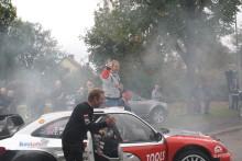 Petter Solberg kör rally hos TOOLS i Lidköping