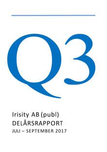 Delårsrapport tredje kvartalet 2017