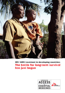 HIV/AIDS treatment in developing countries: The battle for long-term survival has just begun