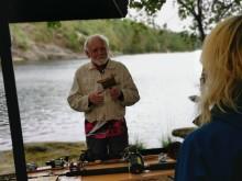 Museet producerar en sportfiskeutställning och söker fiskehistorier