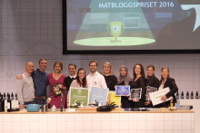 Årets vinnare i Matbloggspriset 2016
