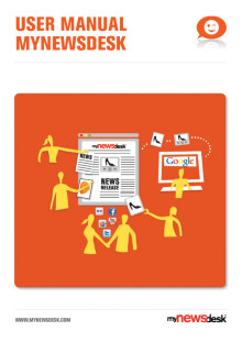 User Manual Mynewsdesk