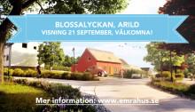 Välkommen på visning 21 sep i Blossalyckan, Arild