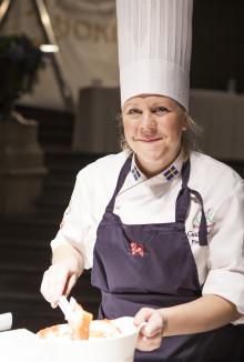 Cecilia Andersson från Stockholm vinnare i Årets Konditor 2012