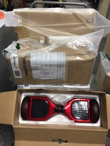 Unsafe 'Hoverboards' seized in Moray operation